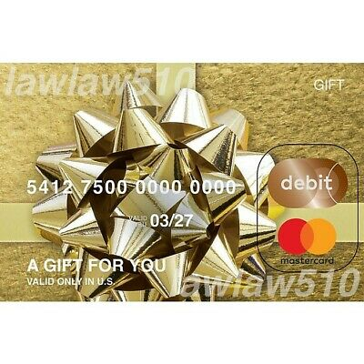 100 Gift Card - Activated Non-reloadable No Fees - FREE SHIPPING