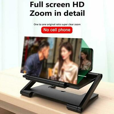 8 inch Folding 3D Screen Mobile Phone Amplifier Magnifier Cellphone Stand F1W1