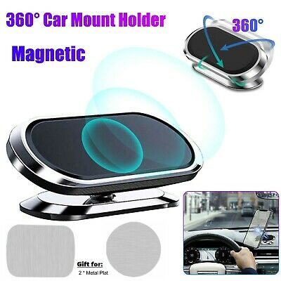 360°Magnetic Car Cell Phone Holder Dashboard Desk Mount Stand for iPhone Samsung