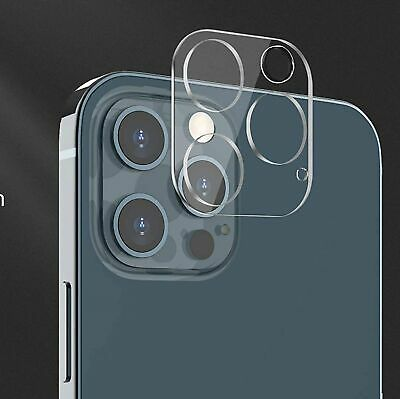 For iPhone 12 Pro Max FULL COVER Tempered Glass Camera Lens Screen Protector