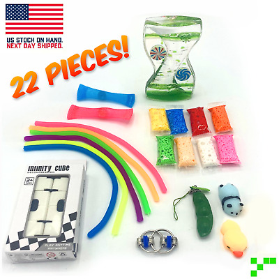 Fidget Sensory Toys Set 22 Pack For Stress Relief Anti-Anxiety Stocking Stuffer