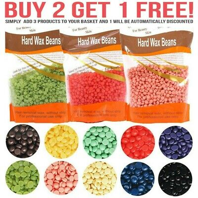 Hard Wax Beads Beans For All Waxing Depilatory Hair Removal Warmer Heater