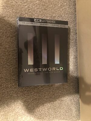 Westworld Season 34K Ultra HD-Bluray-DigitalBrand New-Please Read Description