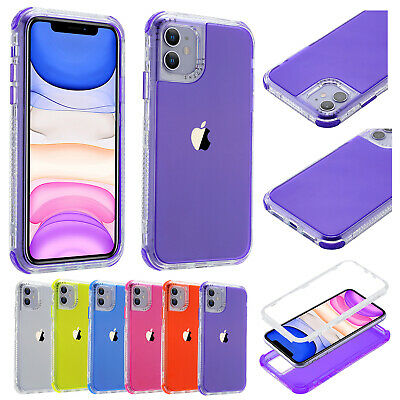 For Apple iPhone 12 Pro Max 12 Mini 11 8 7 6 Shockproof Hybrid Bumper Case Cover