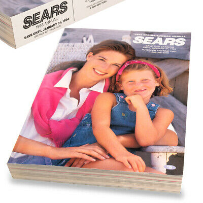 1993 SEARS Catalog - Last Printed Big Book Original Collectible​