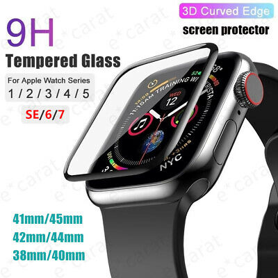 For Apple Watch 65432SE iWatch 38404244mm Full Screen Clear Protector