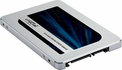 Crucial - MX500 1TB 3D NAND SATA 2-5 Inch Internal Solid State Drive