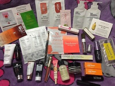 Sephora Play Samples HUGE Lot Clinique philosophy Too Faced Tocca Hue Gloss-