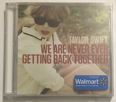 Taylor Swift We Are Never Ever Getting Back Together Walmart 1 track CD single