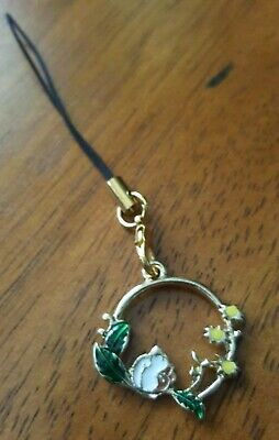 New Squirrel Cell Phone Charm Strap -