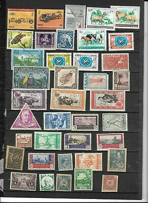 Mint Worldwide  Stamp Collection Better Issues 3 Scans
