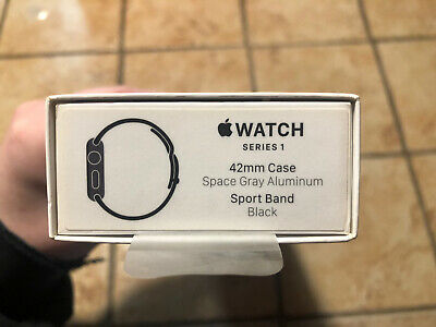 EMPTY BOX - INSERTS ONLY Apple Watch Series 1 42mm Space Gray Includes ML Strap