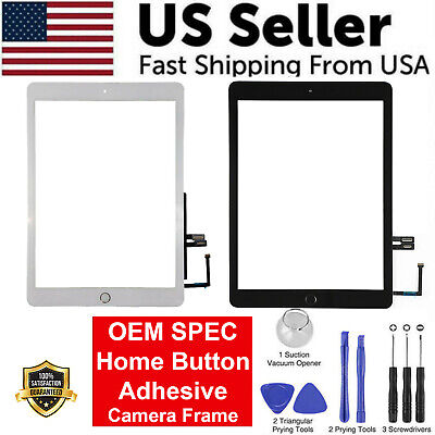 OEM SPEC Digitizer Glass Touch Screen For iPad 6 9-7 6th Gen 2018 - Home Button
