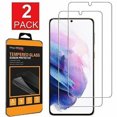2-Pack For Samsung Galaxy S21  S21 Plus Tempered Glass Screen Protector