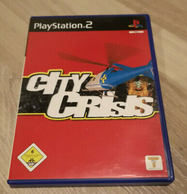 City Crisis Sony PlayStation 2 PS2