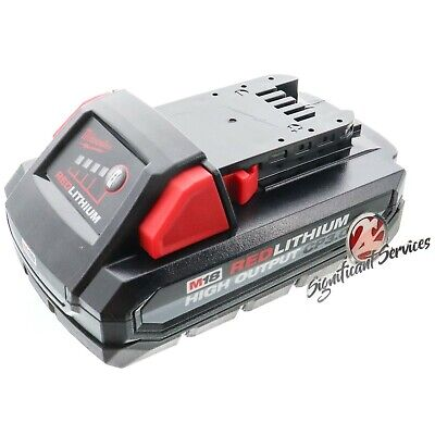 New Milwaukee 48-11-1835 M18 Red Lithium High Output 18V 3-0 Ah Battery