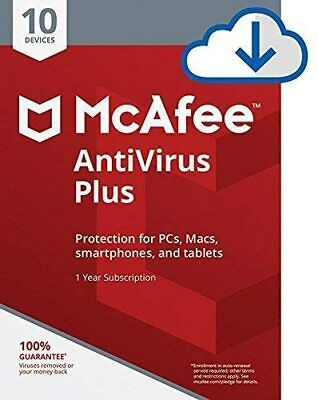 McAfee AntiVirus Plus 2021 - Unlimited Users - Download Only