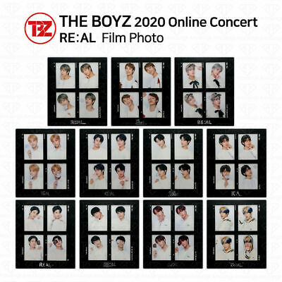 THE BOYZ 2020 ONLINE CONCERT REAL OFFICIAL GOODS FILM AND PHOTOCARD SET USA