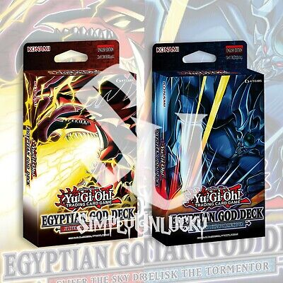EGYPTIAN GOD DECK SLIFER - OBELISK DECK BUNDLE 80 CARDS YuGiOh SEALED Presale
