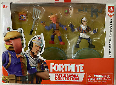 Fortnite Battle Royale Collection - BEEF BOSS - GRILL SERGEANT - Action Figures