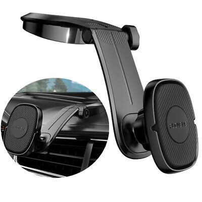 360° Magnetic Car Mount Phone Holder Stand Dashboard For iPhone 12 Pro Max 11 XR