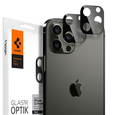 For iPhone 12 12 Pro 12 Pro Max 12 Mini  Spigen® tR Optik Camera Cover