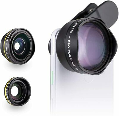 150 Black Eye Lens Smartphone Pro Photo Travel Kit for Iphone 12 Android Moment