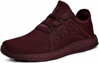 2 Pair Red Mens Ultra Lightweight Breathable Walking Shoes Athletic Shoes