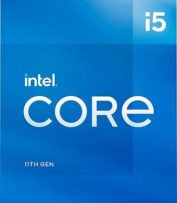 Intel - Core i5-11400 11th Generation - 6 Core - 12 Thread - 2-6 to 4-4 GHz -
