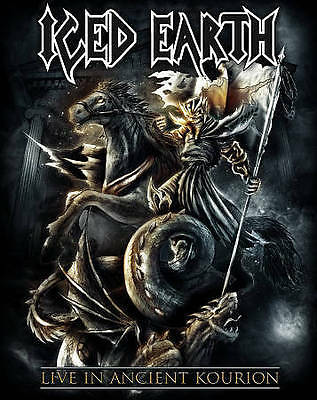 Iced Earth - Live In Ancient Kourion Dvd  out of print