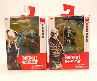 Lot of 2 Fortnite Battle Royale Collection 2 Action Figures - 2018 New