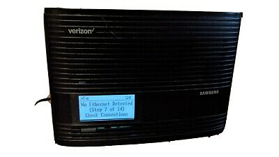 Samsung SLS-BU10B 4G LTE Cellular Signal Booster for Verizon - Black