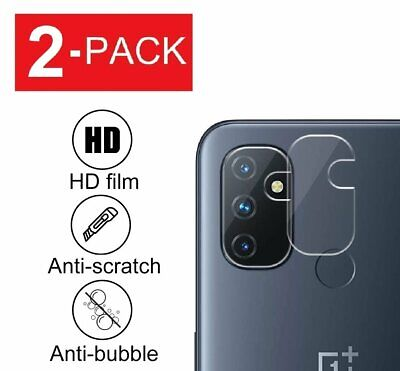 2-Pack For OnePlus Nord N10 5G N100 Tempered Glass Camera Lens Screen Protector