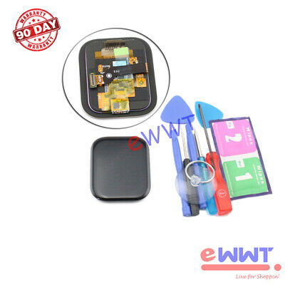 Replacement Black Full LCD Screen -Tools for Amazfit GTS 2019 Smartwatch GQLP006