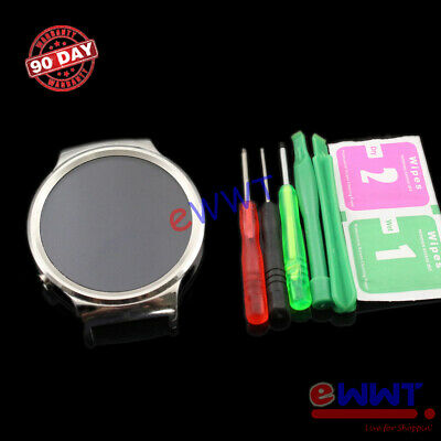 Silver Assembly LCD w Touch Screen -Tools for Huawei Watch 1st Gen 2015 FVLQ580