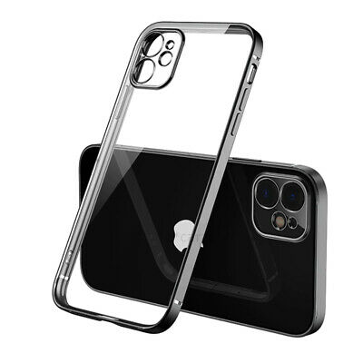 For Apple iPhone 12 11 PRO 7 8 Plus X XR XS MAX SE 12 Mini Shockproof Clear Case