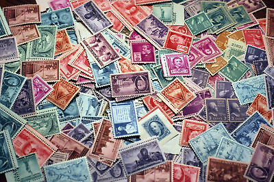 USA Postage Stamp Lots 50 to 120 YEAR OLD MNH Vintage Stamps - FREE SHIPPING