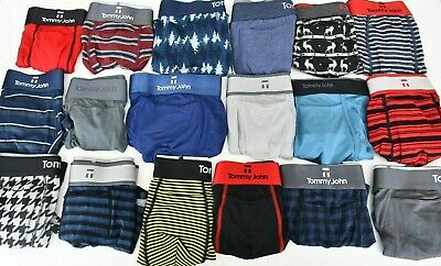 NWOT Tommy John Square Cut Mens Trunks Underwear Choose Size Style - Color