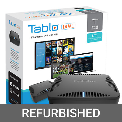 Tablo DUAL LITE Over-The-Air DVR OFFICIAL REFURBISHED