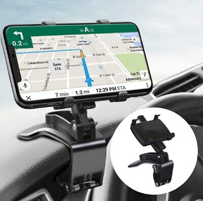 Car Phone Mount for Car 360 Degree Rotation Dashboard Clip Mount Car Phone Stand