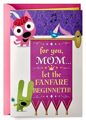 Mothers Day Card- hoops-yoyo™ Mothers Day Sound Card With Motion