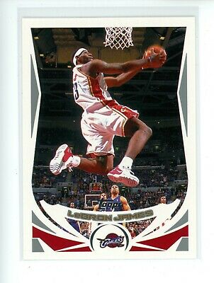 2004-05 Topps LEBRON JAMES 23 2nd Year Los Angeles Lakers