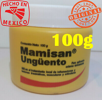 Mamisan Mamisan unguento original 100g Mamisan ointment from Mexico