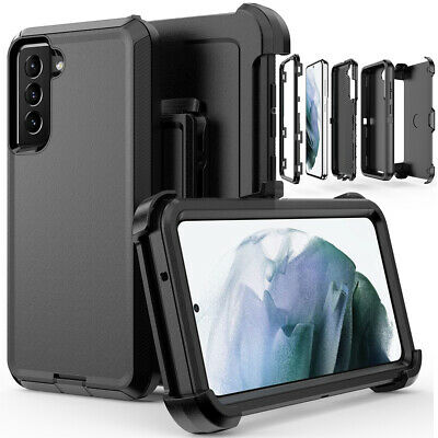 For Samsung Galaxy S21 FE Case Shockproof Defender Cover-Belt Clip Fits Otterbox
