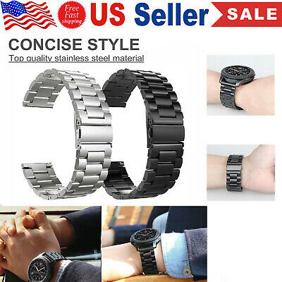 Stainless Steel Metal Strap Band for Samsung Gear S3 Frontier  Classic S3 Watch