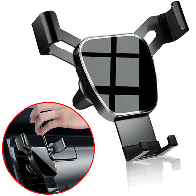 Gravity Car Air Vent Mount Cradle Cell Phone Holder Stand for iPhone 12 Pro Max