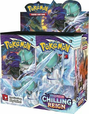 Pokemon Chilling Reign Factory Sealed Booster Box