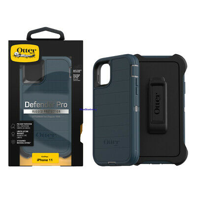 OtterBox Defender Series Pro Case - Holster for iPhone 11 6-1 Blue