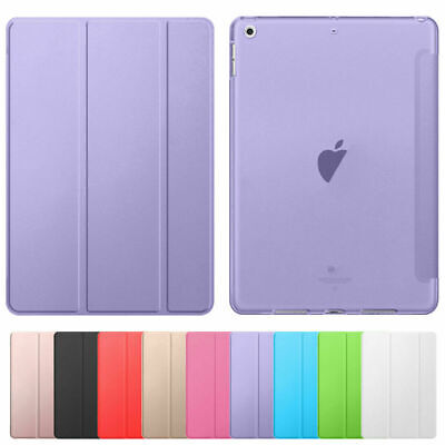For iPad 9-7 6th Generation 2018 5th 2017 Soft Shell Case Smart Leather Cover