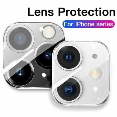 For iPhone 12 11 Pro Max XR XS Tempered Glass Camera Lens Cover Screen Protector